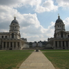 Queen Mary Court (left) And The Painted Hall