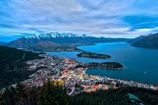 Queenstown From Bob's Peak - Otago - South Island NZ