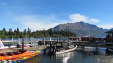 Queenstown Wharf Boats - South Island NZ