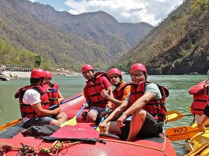 Rafting in Rishikesh Photos