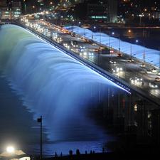 Rainbow Fountain Seoul
