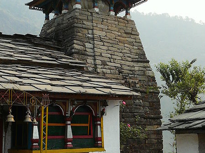 Ransi Temple On The Way To Madhyamaheshwar