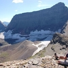 Red Eagle Glacier At Far Left