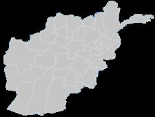 Regional Map Of Afghanistan