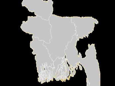 Regional Map Of Bangladesh