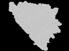 Regional Map Of Bosnia And Herzegovina