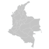 Regional Map Of Colombia