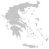 Regional Map Of Greece
