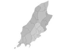 Regional Map Of Isle Of Man