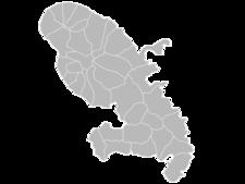 Regional Map Of Martinique