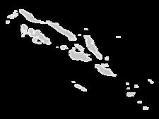 Regional Map Of Solomon Islands