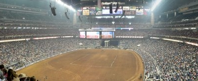 Interior Of Reliant Stadium