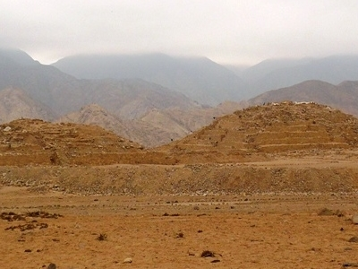 Remains Of Caral.
