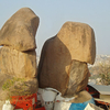 Rocks Golkonda Fort