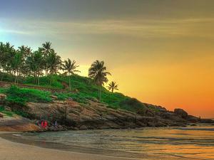 Romantic Honeymoon in Kerala Fotos