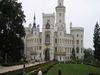 Royal Castle In Hluboka And Vltavou