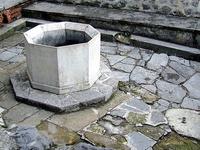 The ruins of Memi Pasha's bath