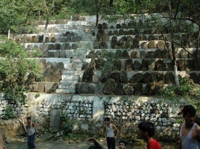 Sacrificial Stone At Baba Dhansar