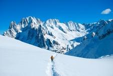 Sagarmatha NP Hikers In Winter