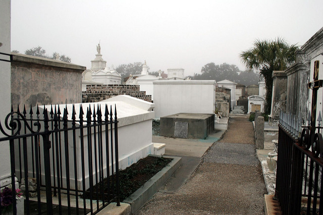 St. Louis Cemetery No. 1 Walking Tour Photos