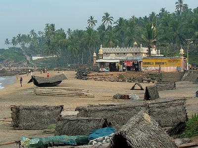 Samudra Beach Mosque - Kovalam