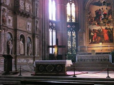 High Altar Showing Titian's Assumption