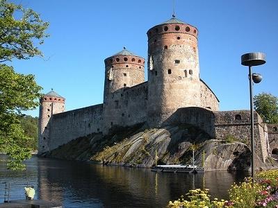 Savonlinna - Olavinlinna Castle - Finland