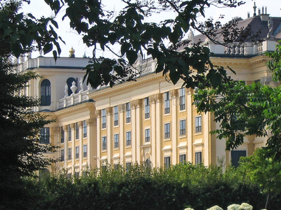 View Of The Gardens