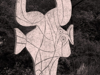 The Fish Sculpture By Pablo Picasso