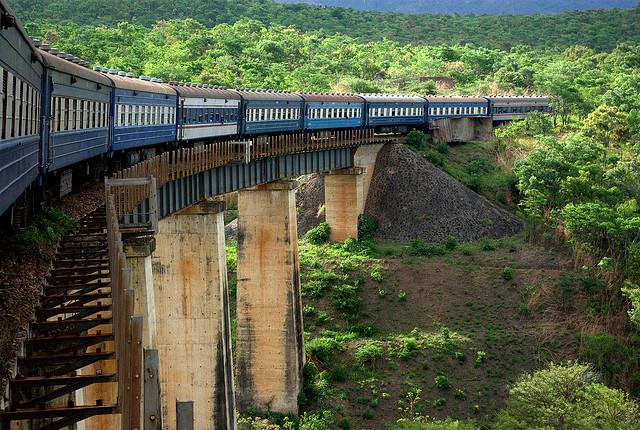 The Vast Selous - Train Journey Photos