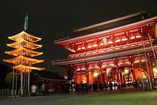 Sensō-ji At Night