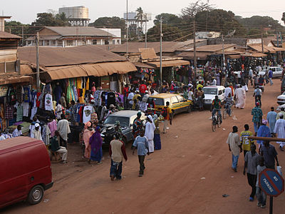 Serekunda Market