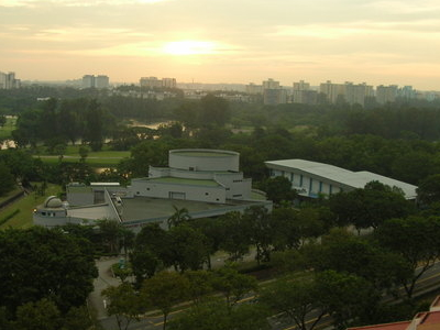 Science Centre In The Evening