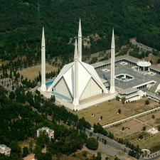 Shah Faisal Masjid In Islamabad