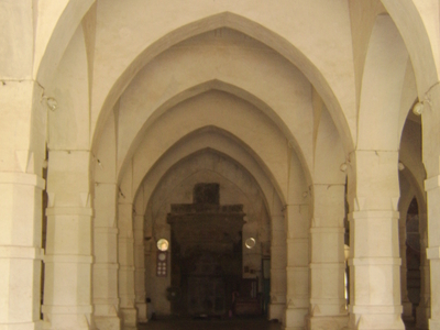 Shat Gombuj Mosque Inside View