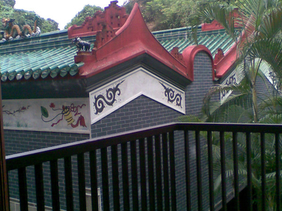 Shatin Che Kung Temple Old