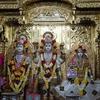 Image Of Ghanshyam With Lakshmi Narayan In Central Sanctum