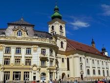 Sibiu City - Ceas Piata Mare