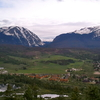 Silverthorne Seen From Nearby Mountain