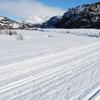 Ski Tracks In Sirdal
