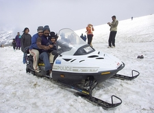 Snowmobile At Rohtang Pass - Lahaul & Spiti HP