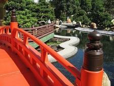 Over South Garden Bridge - Chi Lin Nunnery HK