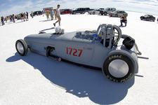 Speed Events On Bonneville Salt Flats