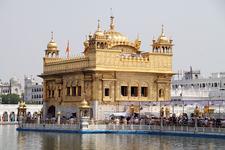 Sri Harmandir Sahib Main Building With Akal Takht Sahib