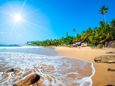 Sri Lanka Tropical Beach View