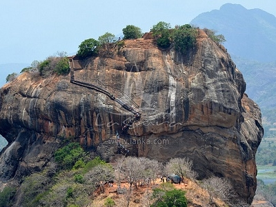 Stairway To Sigiriya Fort Summit