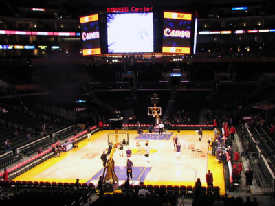 Staples Center In Los Angeles