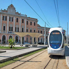 Station Building And Tramway