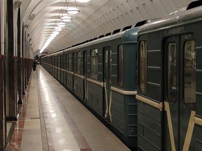 Station Platform Of Mayakovskaya Station