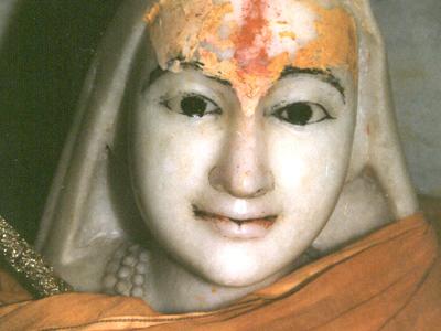 Statue Of Adi Shankara Bhagavat Pada At His Samadhi Mandir In Ke